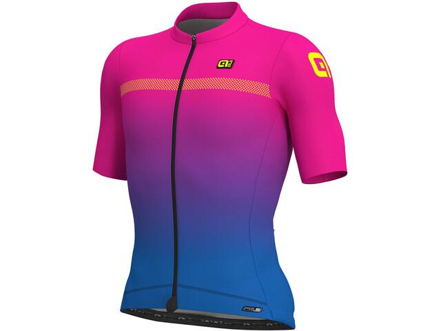 Alé Cycling PRS Fade Miehet Pyöräilypaita lyhythihainen , vaaleanpunainen/sininen